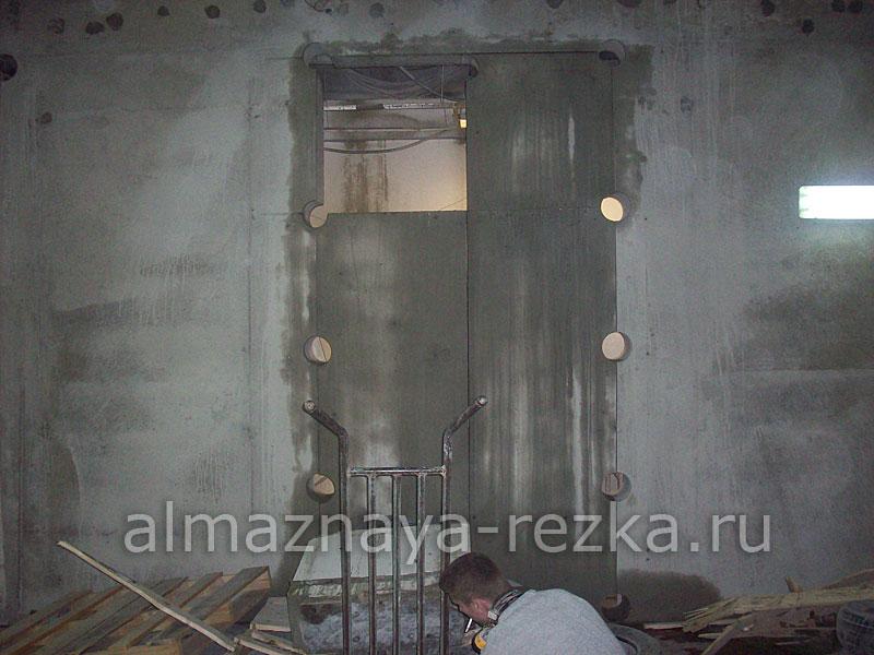 Резка проёма в стене
