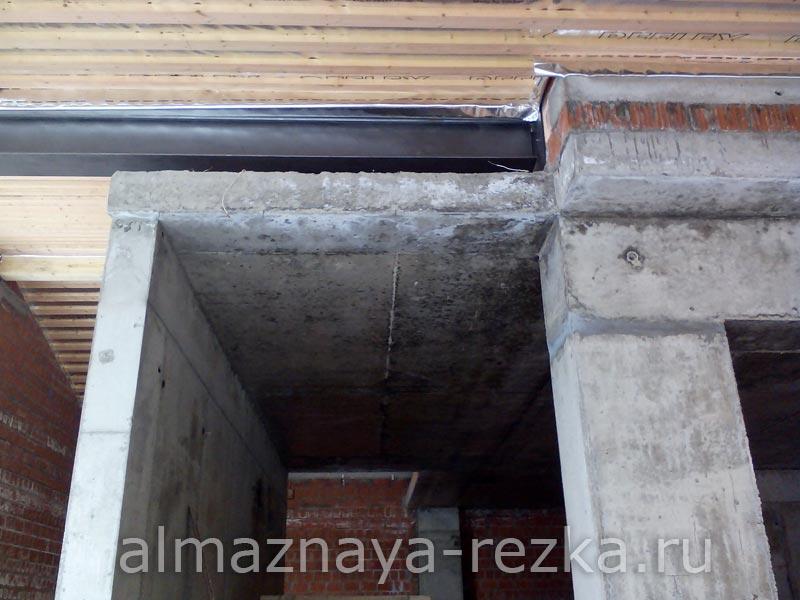 Резка стен и перекрытий